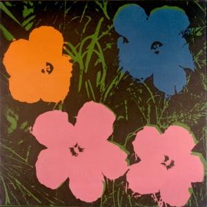 flower Warhol