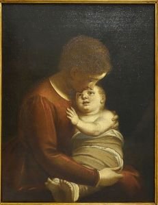 Madonna_with_Child_by_Luca_Cambiaso,_c._1575,_oil_on_canvas_-_Accademia_Ligustica_di_Belle_Arti_-_DSC02083