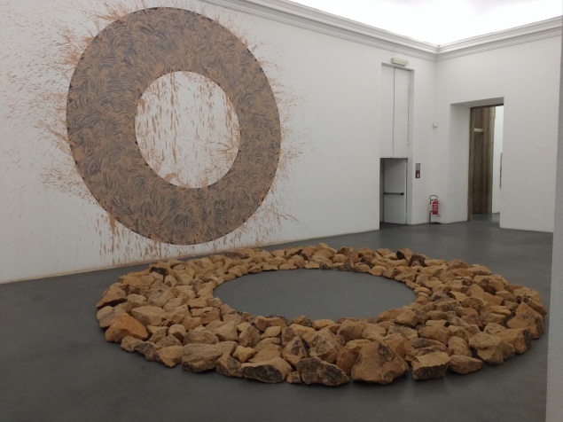 La stanza dedicata a Richard Long