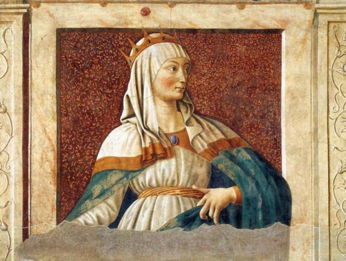 Andrea del Castagno, la Regina Esther (1450)
