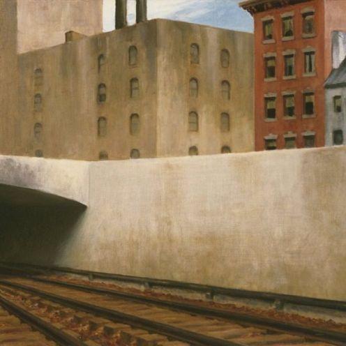 Edqard Hopper, Approaching a city (1946)