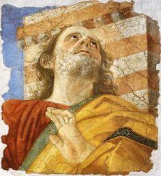Melozzo da Forlì, Testa di Apostolo (1472-4)