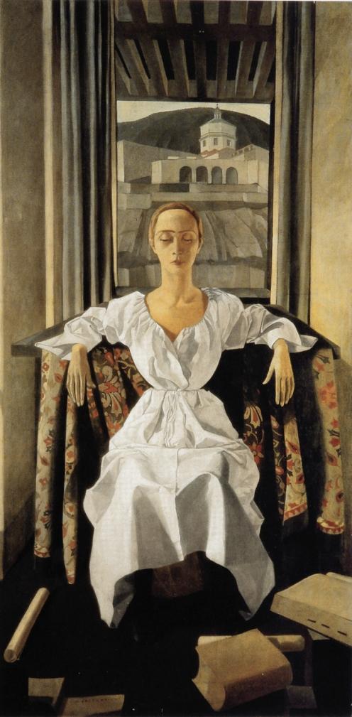 Felice Casorati, Ritratto di Silvana Cenni (1922)