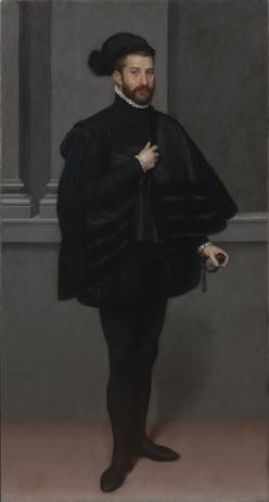 G.B. Moroni, Cavaliere in Nero