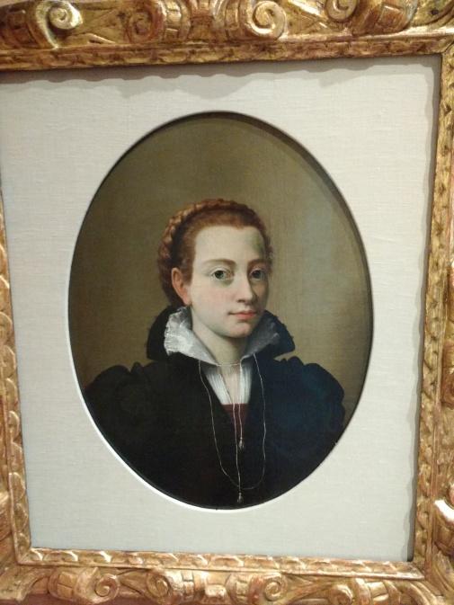Sofonisba Anguissola, Autoritratto