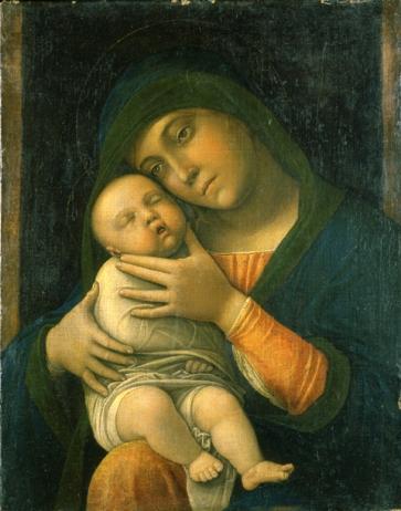 Andrea Mantegna, Madonna con Bambino