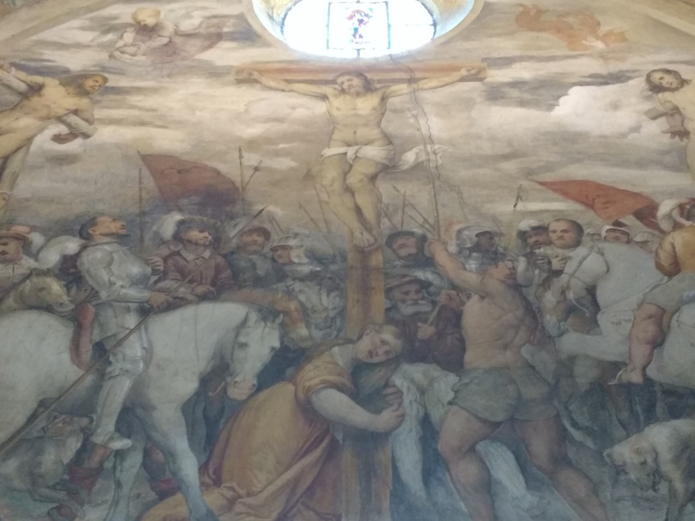G. romanino, Crocifissione, Chiesa di S. Maria della Neve, Pisogne (1531-32)