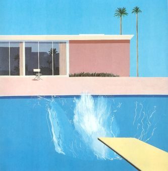 A bigger splash (1967)