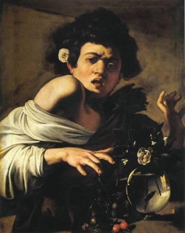 Ragazzo morso da un ramarro (1597), Fondazione Longhi
