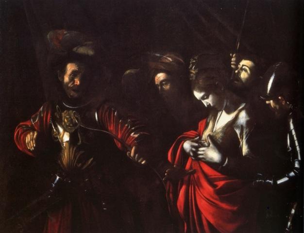 Martirio di Sant'Orsola (1610), Galleria di Palazzo Zevallos, Napoli