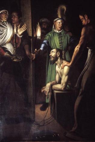 Antonio Campi Decollazione Battista